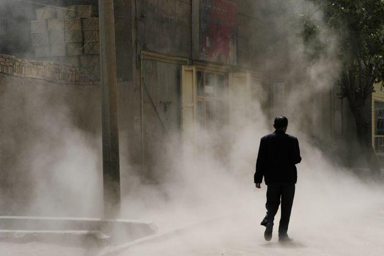 Alley, Xinjiang, China
