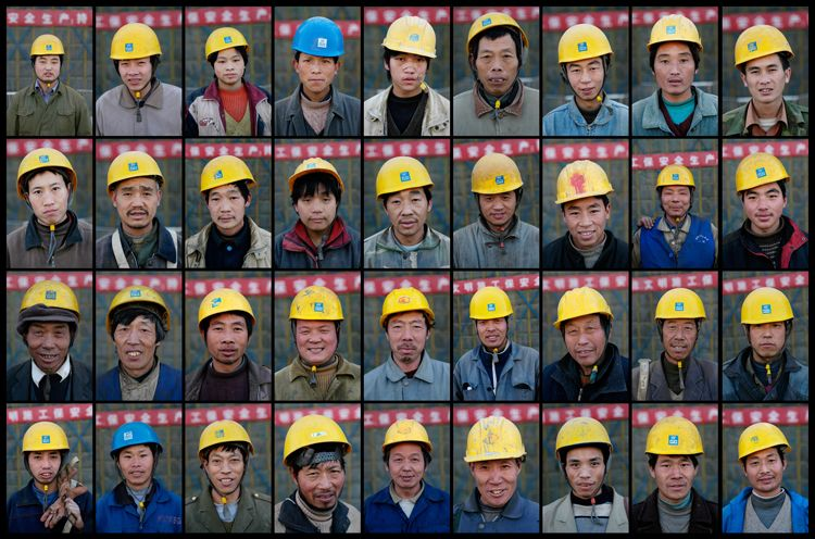 Migrant Workers, Beijing, China