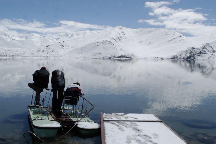Boat, Xinjiang, China