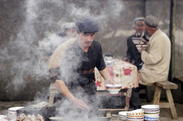 Animal Market, Xinjiang, China