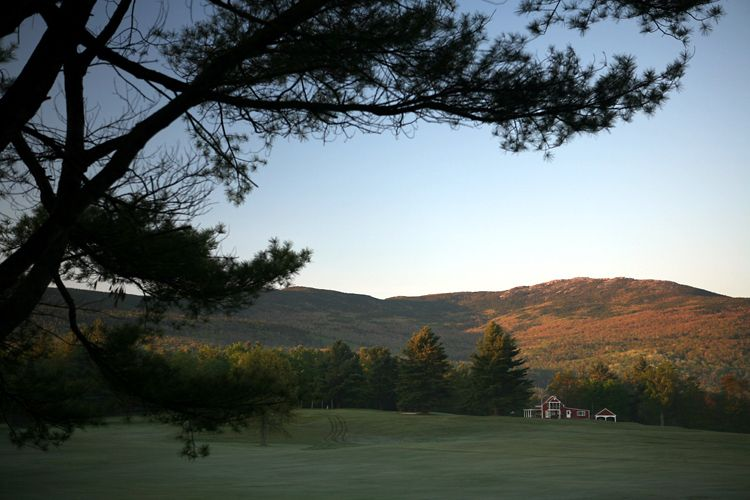 Monadnock & Golf Course, Dublin, NH