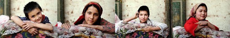 Seamstresses, Xinjiang, China