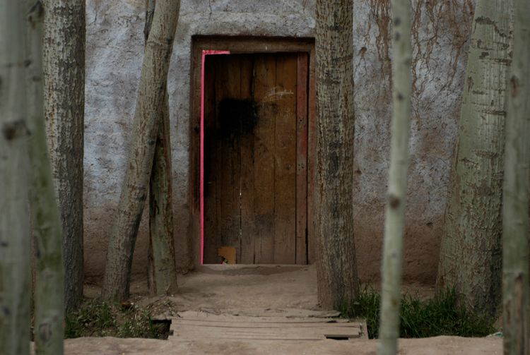Door, Xinjiang, China