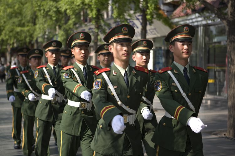 Soldiers, Beijing, China