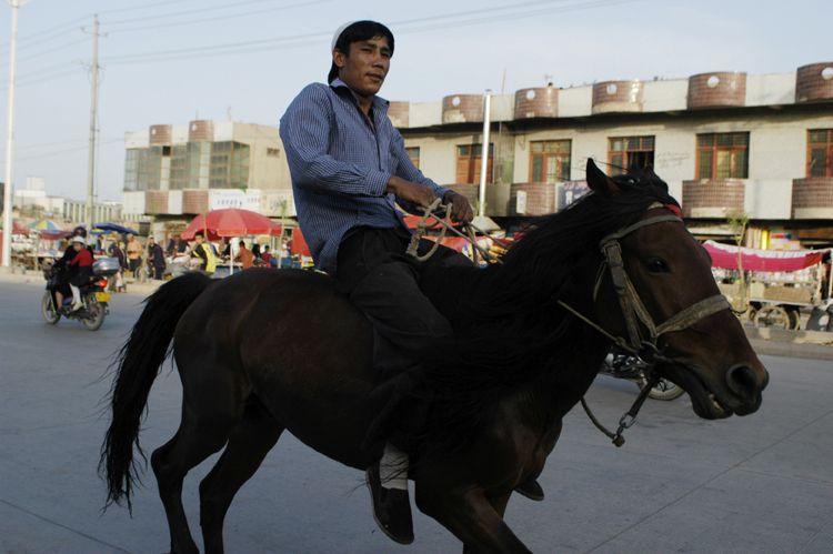 Rider, Xinjiang, China