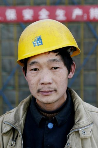 Migrant Worker, Beijing, China