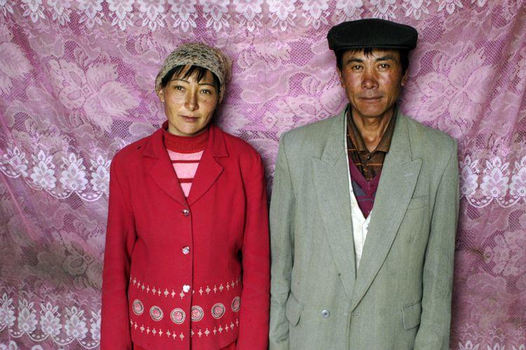 Couple, Xinjiang, China