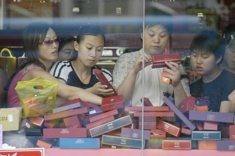 Shoppers, Shanghai, China