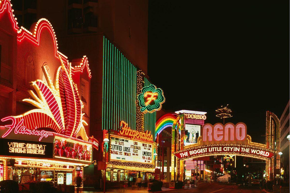 Reno Nevada Main Street