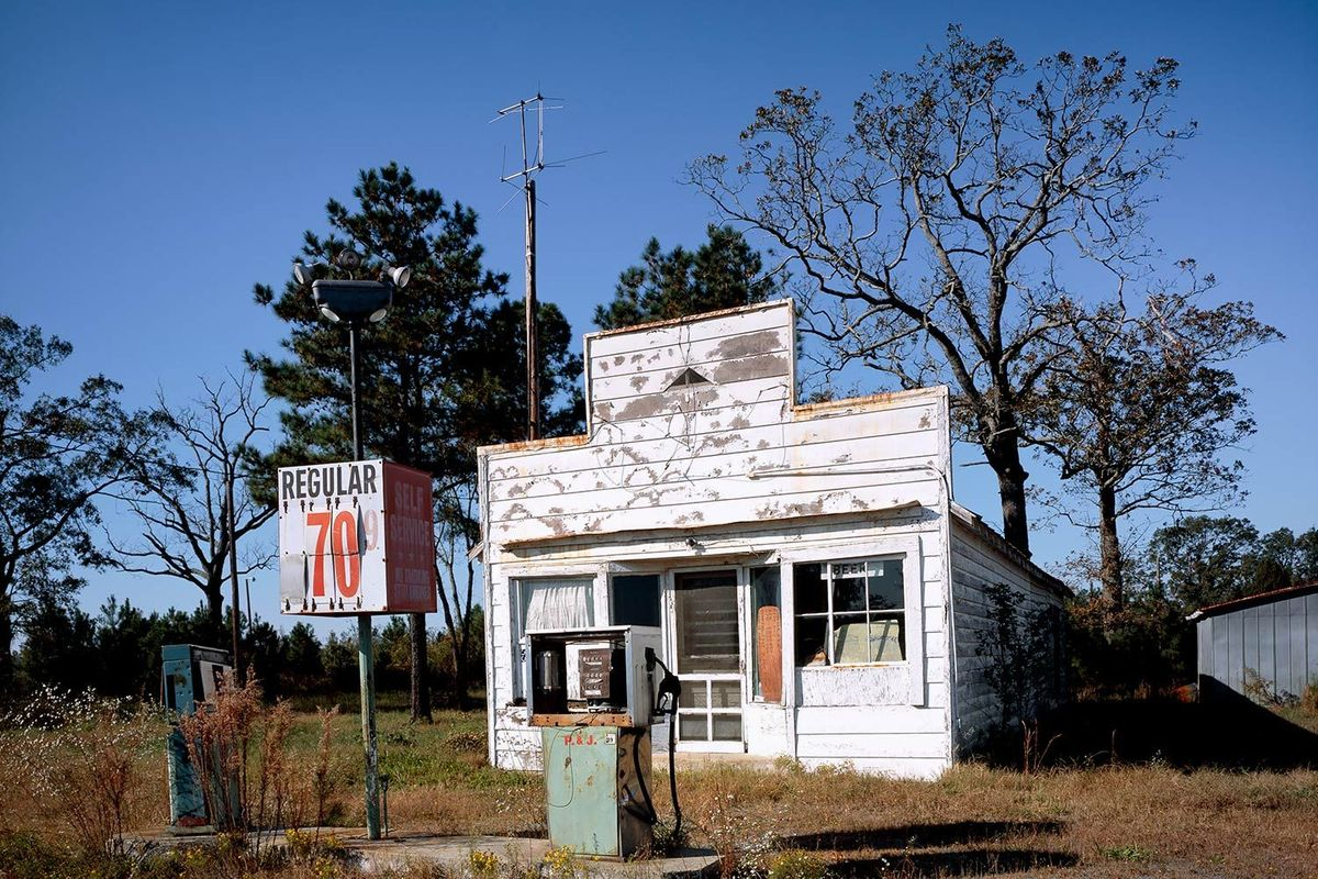 Gas Station out of gas in North Caroina