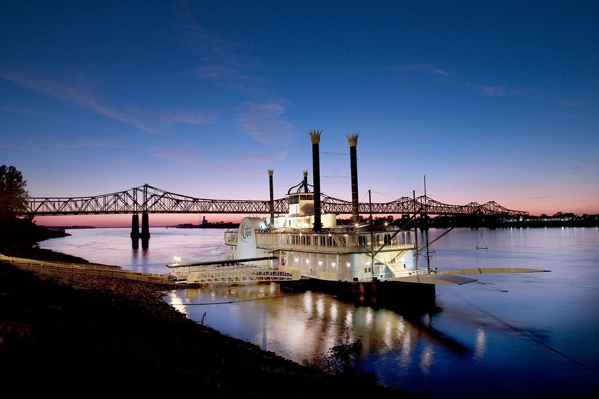 Riverboat in Natchez, Mississippi