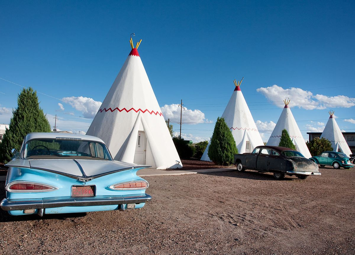 Wigwam Motel on Route 66 in Holbrook, Arizona