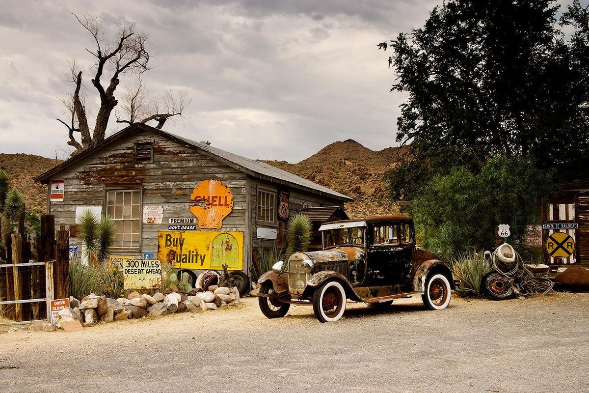 Hackberry General Store on Route 66 in Hackberry, Arizona