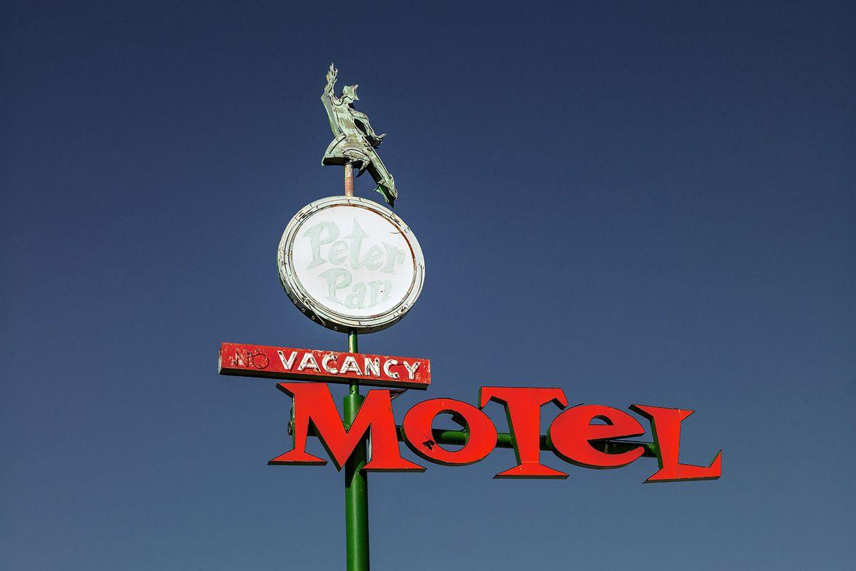 Peter Pan Motel in Las Vegas, Nevada