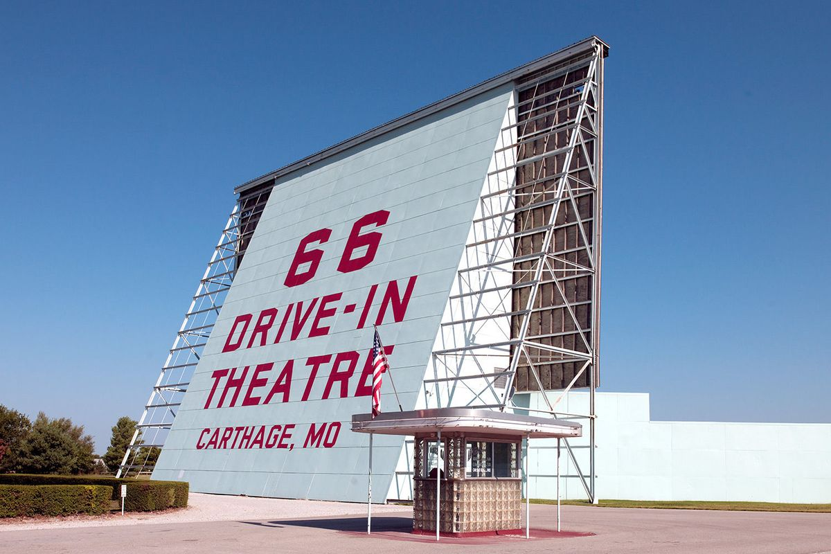 Route 66 Drive-In Theatre in Carthage, Missouri