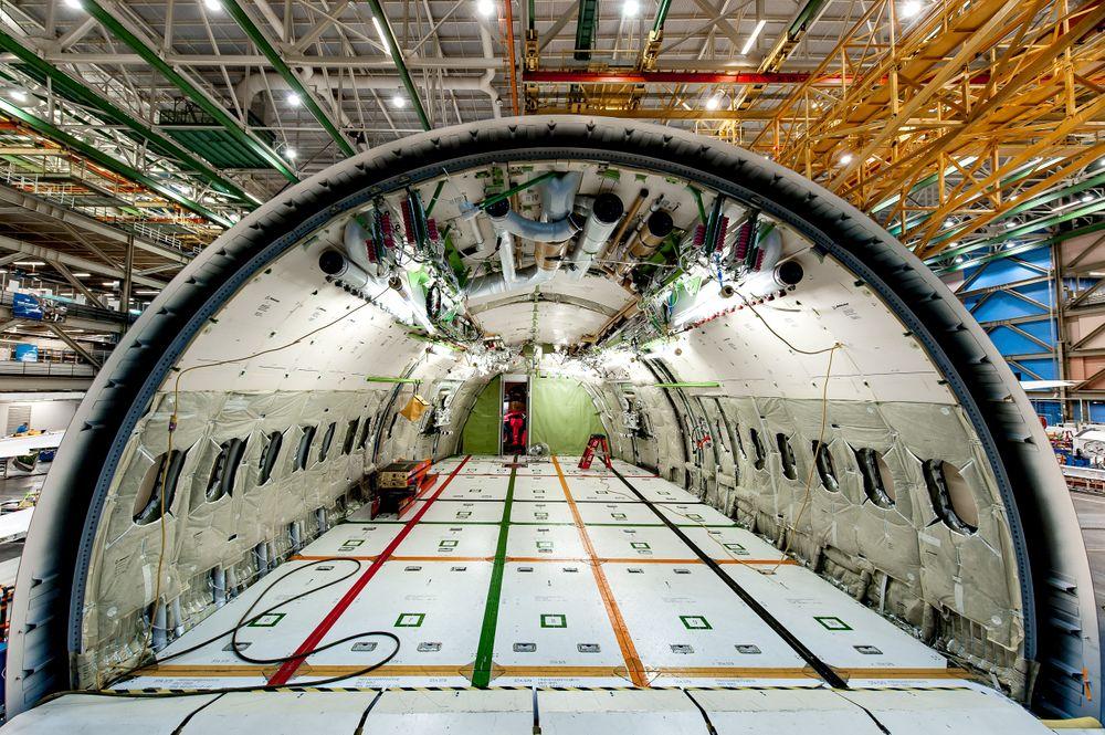 Boeing 787. Everett, WA