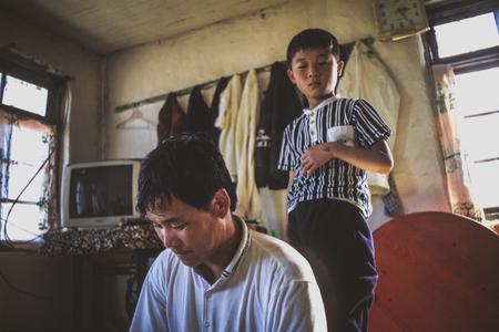 North Korean refugees. China