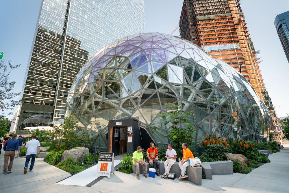 Amazon Spheres Seattle