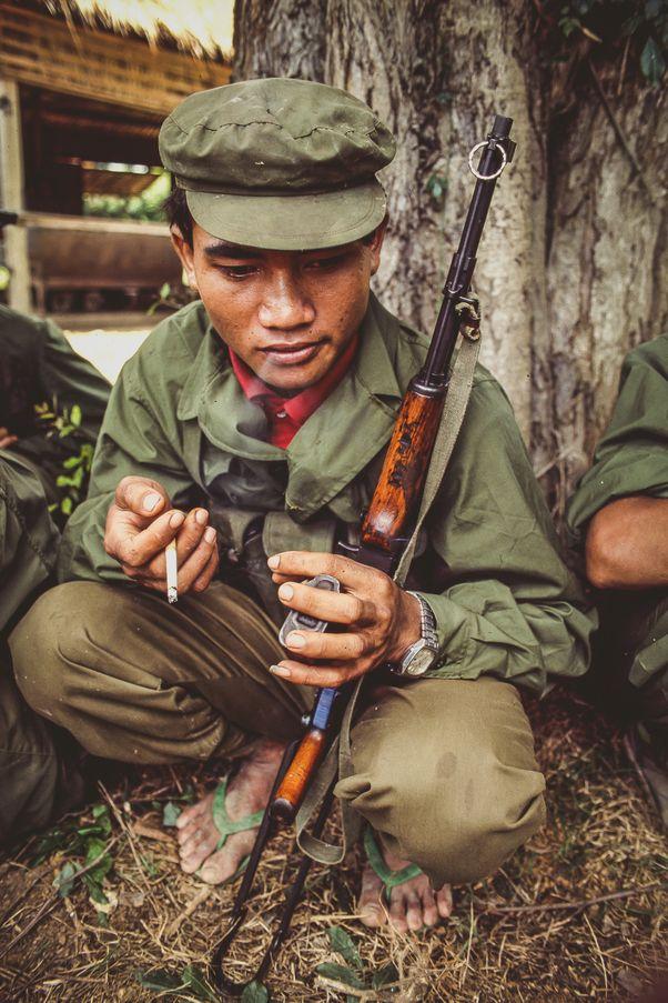 Khmer Rouge Guerrilla