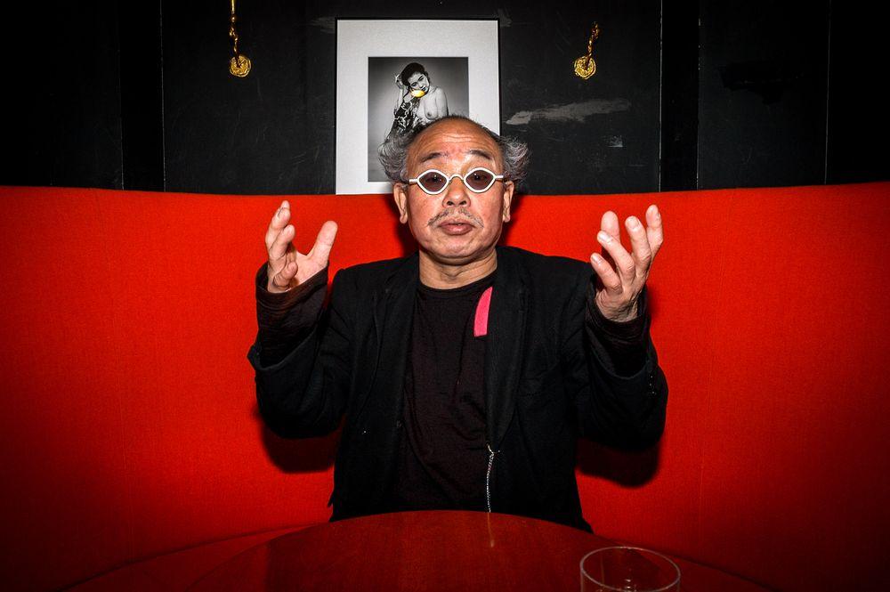 Japanese photographer Nobuyoshi Araki