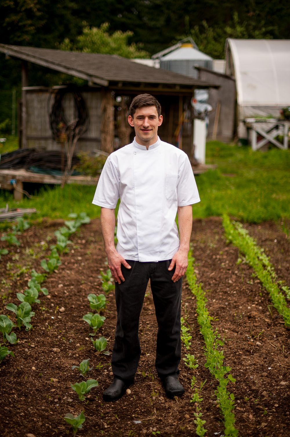 Chef Blaine Wetzel , Willow Inn