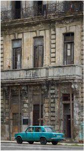Old Car, Old Building