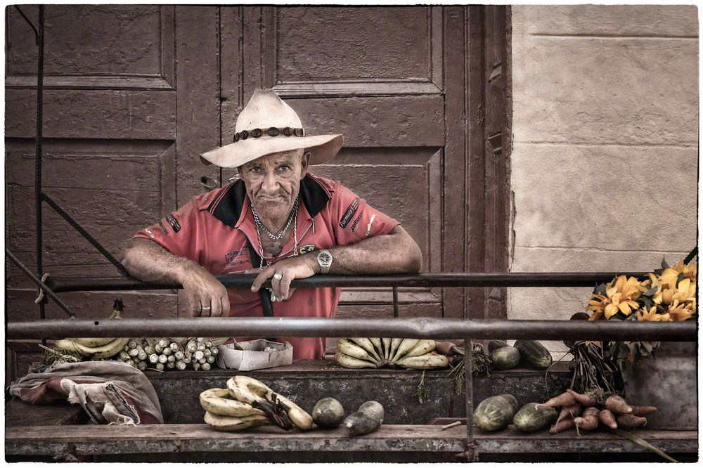 Street Vendor Trinidad,Cuba