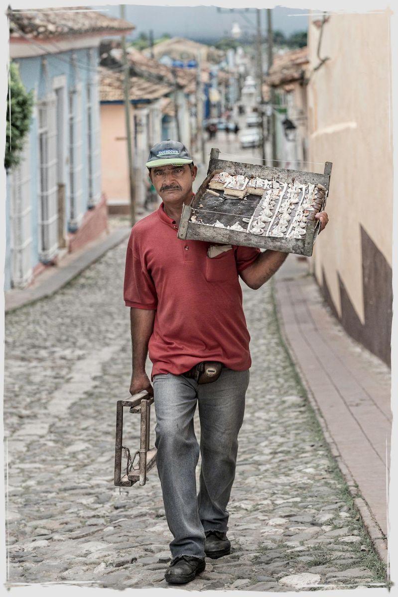 Street Vendor Trinidad, Cuba