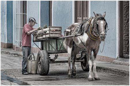 Fruit Cart Trinidad Cuba
