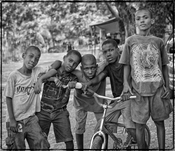 Group Of Boys, Port au Prince