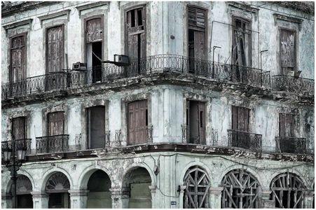 Abandoned Building, Havana
