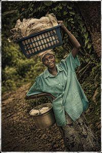 Proud Haitian Woman