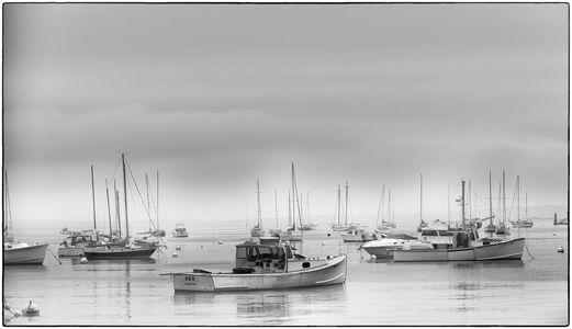 Foggy Morning Rockport, Maine