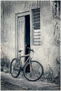 Bicycle Streets Of Cuba