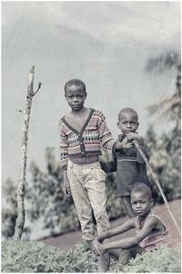 Haitian Boys on Mountain Top