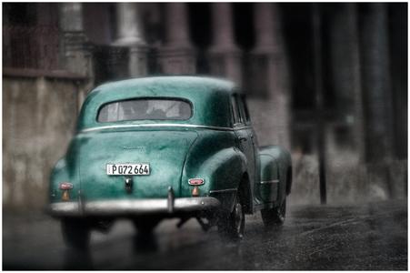 Classic Beauty Through The Raindrops