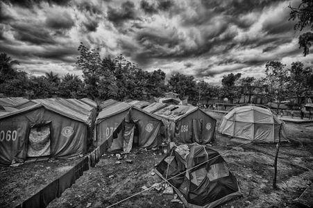 Tent City, Port au Prince