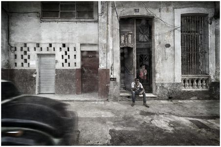 Rainy Afternoon In Old Havana