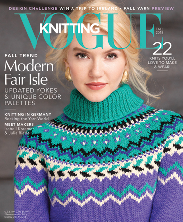 VOGUE KNITTING MAGAZINE FALL 2018_COVER_Hair&makeup by Cindy Adams.jpg