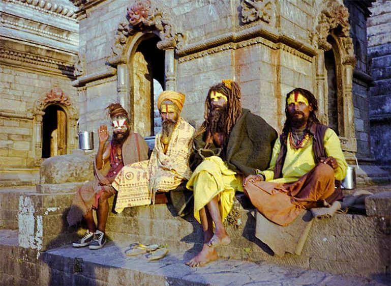 Sadhus at Pasupathinath