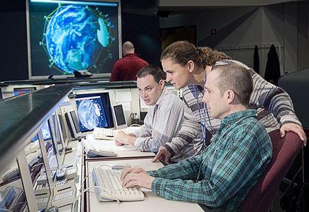 Satellite Communications Center