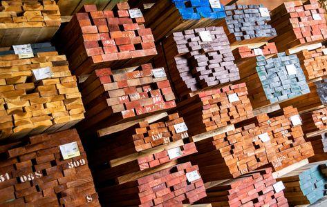 Hardwood Storage Warehouse