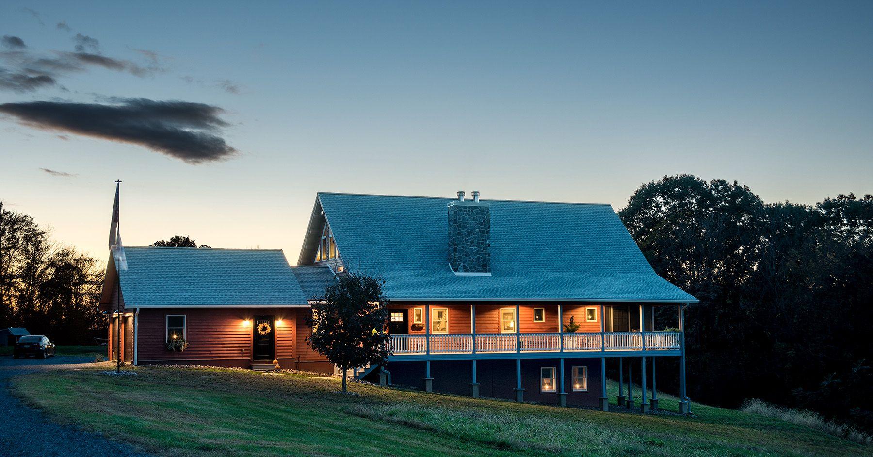 Arborwall Cedar Log Home - Leesport, PA