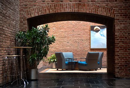 Employee Lounge, Pfizer Peapack Campus, Peapack, NJ
