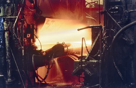 Steel Production:  Hot Strip Finnish Mill