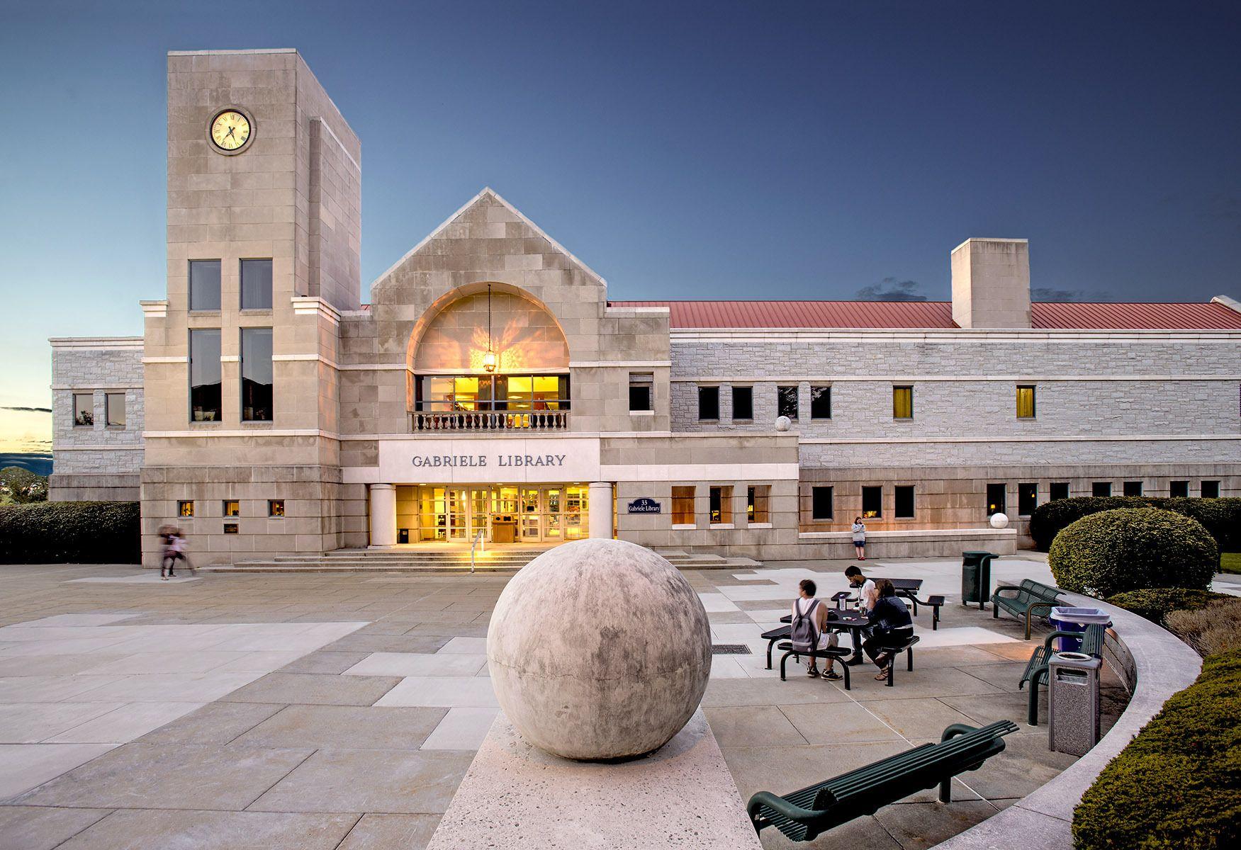 Gabriele  Library,  Immaculata  Univ., Frazer,  PA