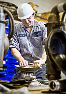 Industrial Equipment Repair Shop