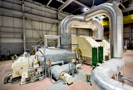 Power Plant Turbine Generator