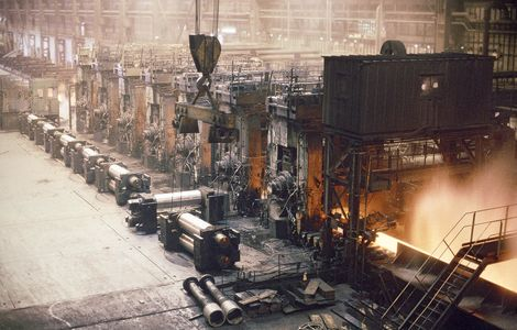 Steel Production:  Hot Strip Finish Mills