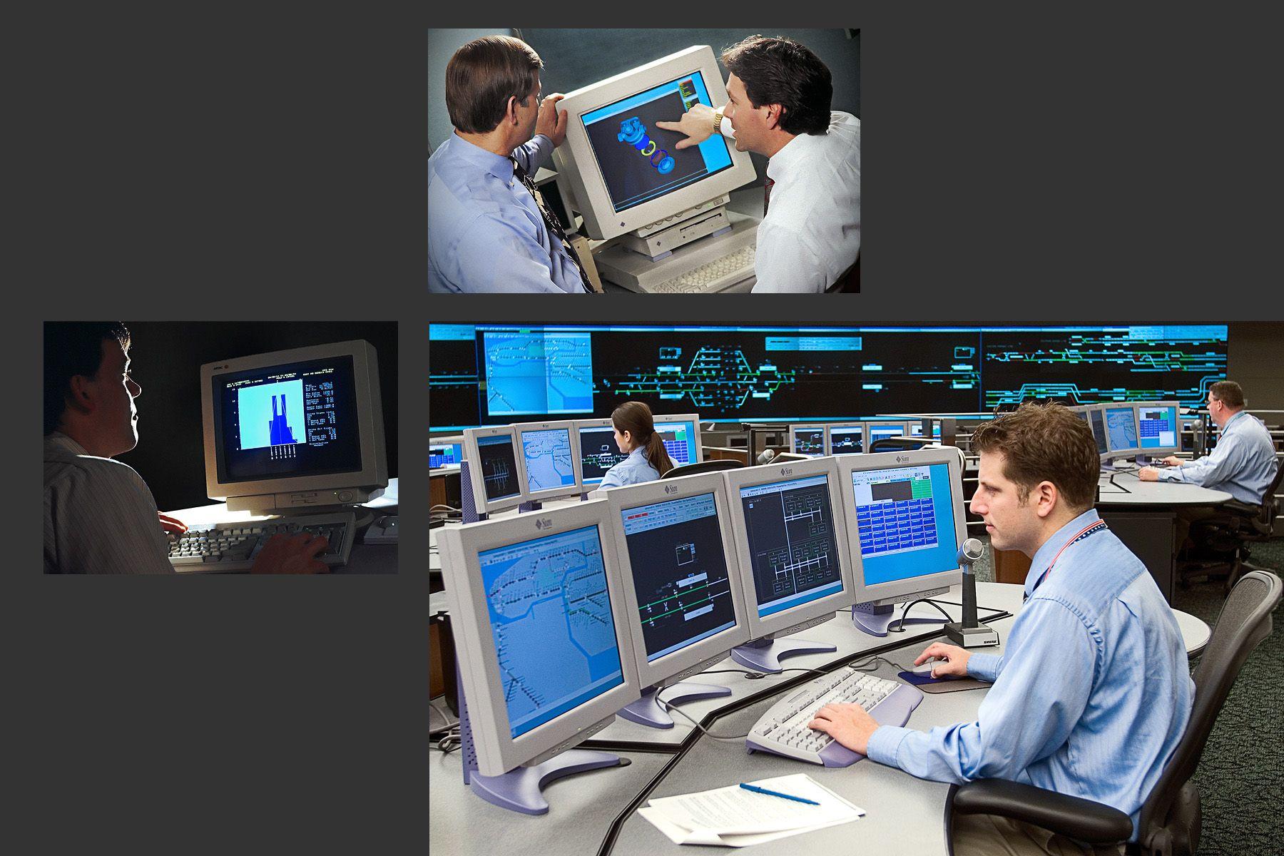 CAD-CAM ;  Transportation Control Center